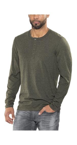 Black Diamond Attitude Maglietta a maniche lunghe Uomo verde oliva